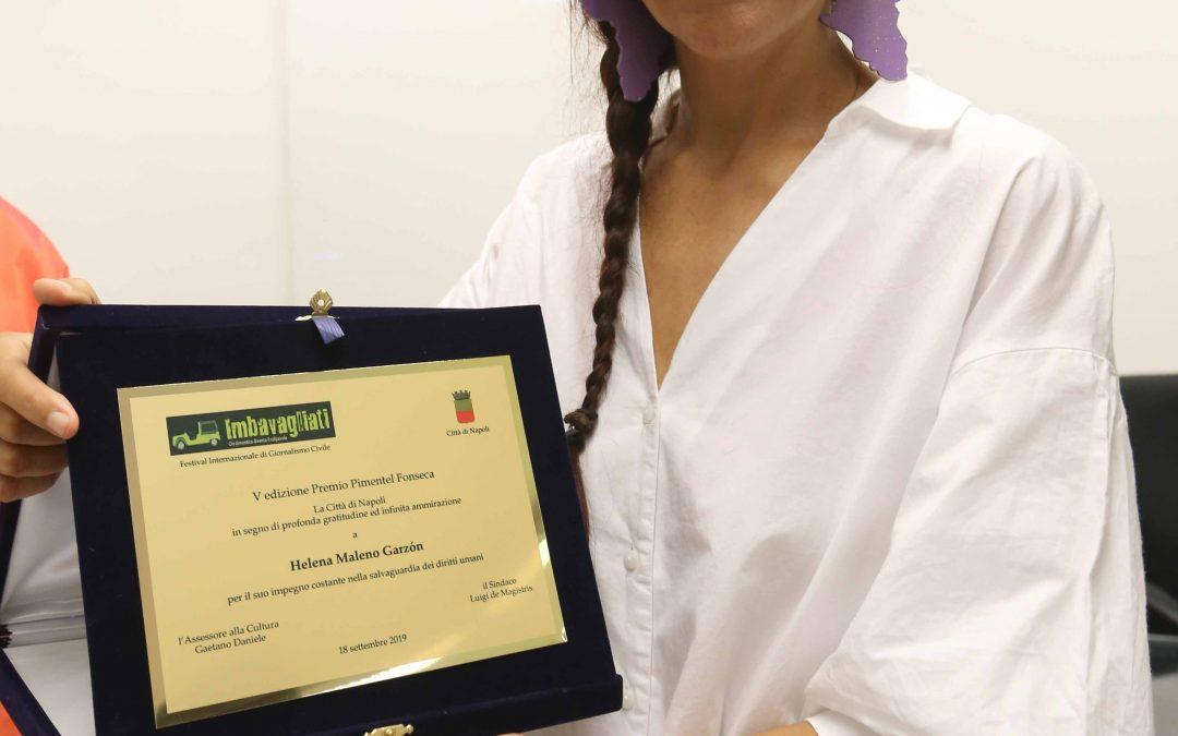 Premio Pimentel Fonseca V edizione – deposizione fiori e cerimonia di premiazione